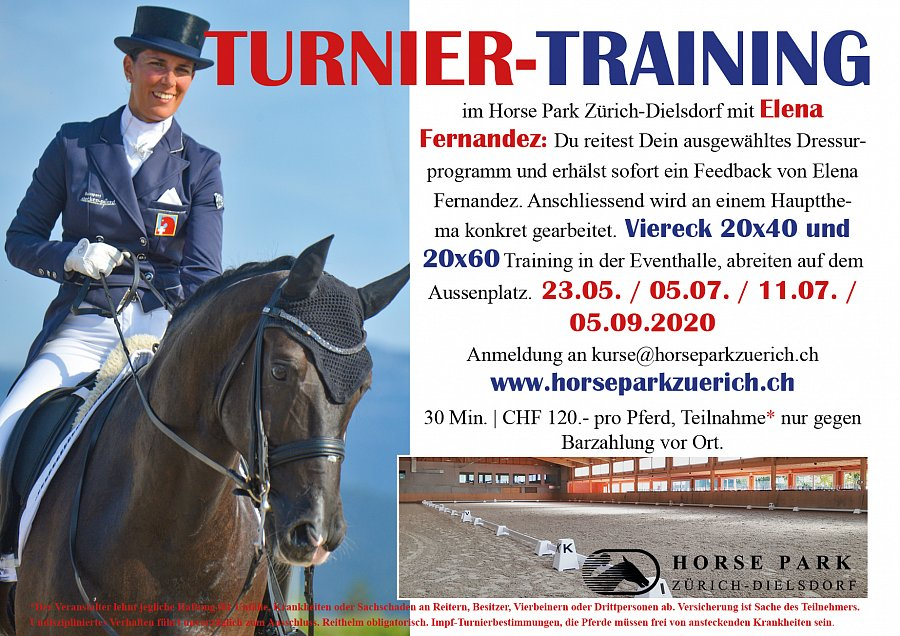 Trainings Dressur