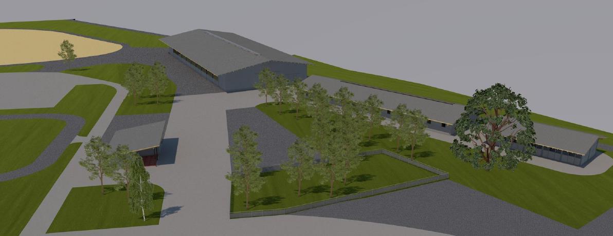 Ausbau Horse Park